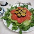 マリネ風ドレッシングサラダ